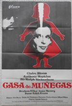 Dolls House, Original Spanish Poster, Claire Bloom, Anthony Hopkins, '73
